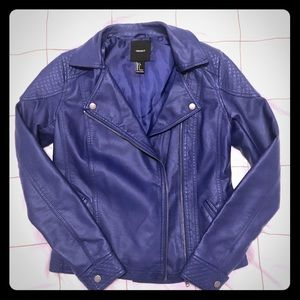 Forever 21 | Faux Leather Moto Jacket
